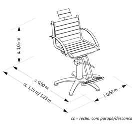 Cadeira Van de Velde Atenas Fixa Café Facto