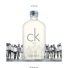 Calvin Klein CK One Unissex Eau de Toilette 100 ml