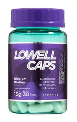 Cápsulas de Crescimento Lowell Caps 30 Cápsulas