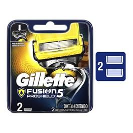 Carga Gillette Fusion 5 Proshield 2 Unidades
