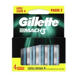 Carga Gillette Mach3 Leve 04 Pague 03
