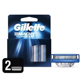 Carga Gillette Mach3 Turbo 2 unidades
