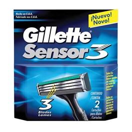 Carga Gillette Sensor 3 2 unidades