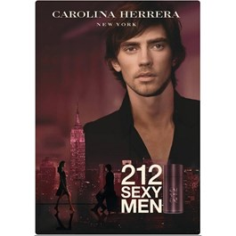 Carolina Herrera 212 Sexy Men Masculino Eau de Toilette 50 ml