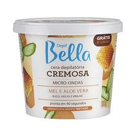 Cera Cremosa Depil Bella Micro-Ondas 100 gr Mel e Aloe Vera