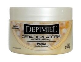 Cera Depilatória Depimiel Exclusiva Para Buço 250 gr Pérola