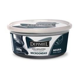 Cera Depilatória Depimiel Microondas 200 gr Negra
