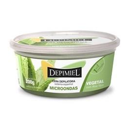 Cera Depilatória Depimiel Microondas 200 gr Vegetal com Aloe Vera