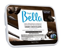 Cera Depilatória Elástica Depil Bella 1 kg Dark Chocolate