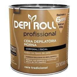 Cera Depilatória Morna Depi Roll 600 gr Tradicional