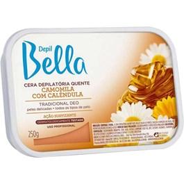 Cera Depilatória Quente Bella Camomila e Calêndula 250g