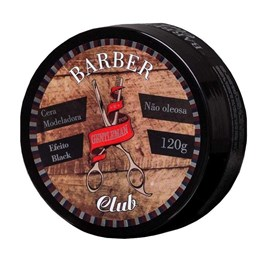 Cera Modeladora Gentleman Barber Club 120 gr Black
