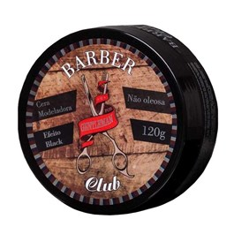 Cera Modeladora Gentleman Barber Club 120 gr Black