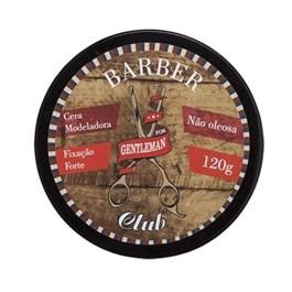 Cera Modeladora Gentleman Barber Club 120 gr Fixac?o Forte