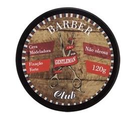 Cera Modeladora Gentleman Barber Club 120 gr Fixação Forte