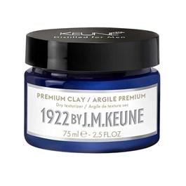 Cera Modeladora Keune 1922 75 ml Premium Clay
