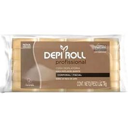 Cera Quente Depi Roll Tradicional Bloco 1kg