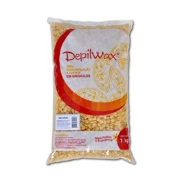 Cera Quente Depilwax Granulos 1 Kg Natural
