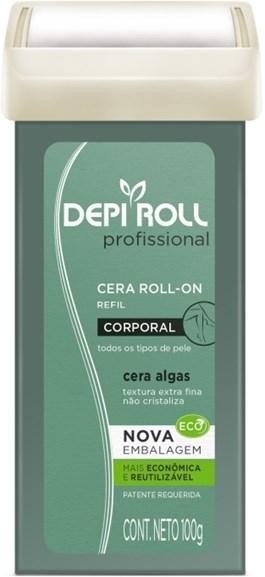 Cera Refil Roll On Depi Roll 100 gr Algas