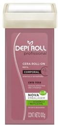 Cera Refil Roll On Depi Roll 100 gr Rosa