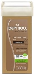 Cera Refil Roll On Depi Roll 100 gr Tradicional