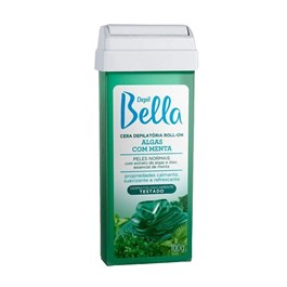 Cera Refil Roll On Depil Bella 100 gr Algas com Menta