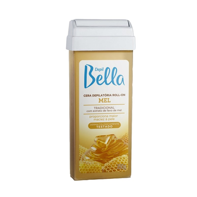 Cera Refil Roll On Depil Bella 100 gr Mel