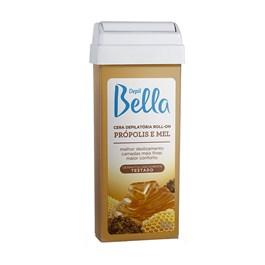 Cera Refil Roll On Depil Bella 100 gr Própolis e Mel