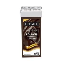 Cera Refil Roll On Depimiel 100 gr Chocolate