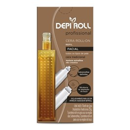 Cera Roll On Refil Depi Roll 25 gr Facial