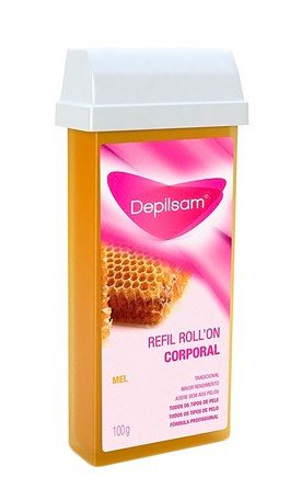 Cera Roll On Refil Depilsam 100 gr Mel