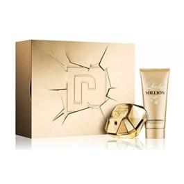 Coffret Paco Rabanne Lady Million Feminino Eau de Parfum