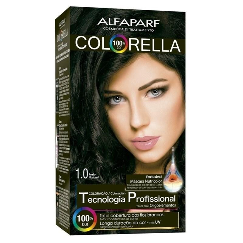 Colorac?o Alfaparf Colorella Preto Natural 1.0