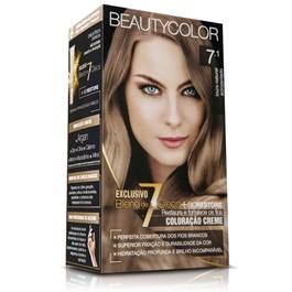 Colorac?o Beauty Color Louro Natural Acinzentado 7.1