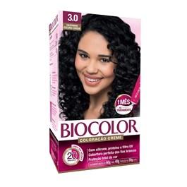 Colorac?o Biocolor Creme Kit Castanho Escuro 3.0
