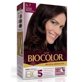 Colorac?o Biocolor Creme Kit Marrom Natural 6.7