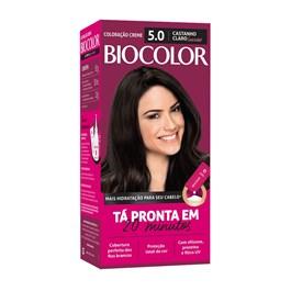 Colorac?o Biocolor Mini Kit Castanho Claro Luxuoso 5.0