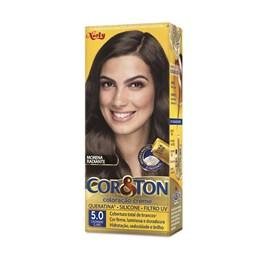 Colorac?o Cor & Ton 5.0 Castanho Claro