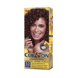 Colorac?o Cor & Ton 5.3 Castanho Claro Dourado