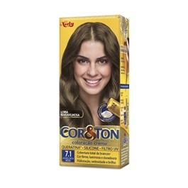 Colorac?o Cor & Ton 7.1 Louro Cinza Medio
