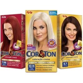 Colorac?o Cor & Ton 8.3 Louro Claro Dourado