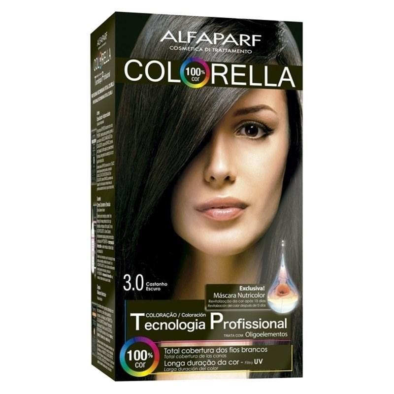 Coloração Alfaparf Colorella Castanho Escuro 3.0
