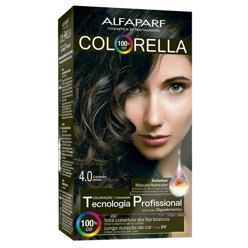 Coloração Alfaparf Colorella Castanho Médio 4.0