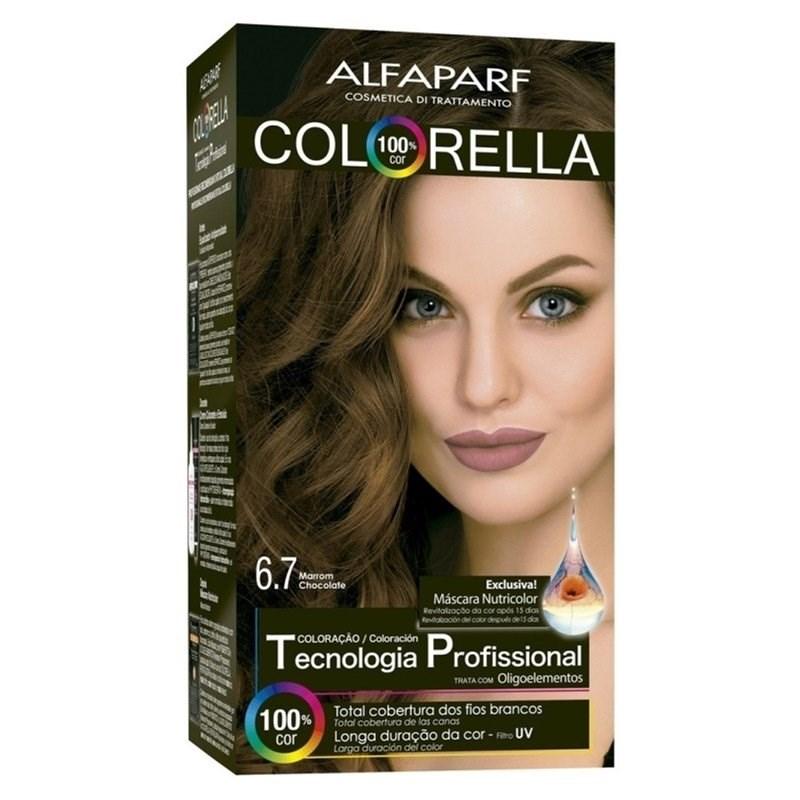 Coloração Alfaparf Colorella Marrom Chocolate 6.7