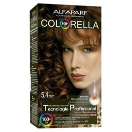 Coloração Alfaparf Colorella Marrom Cobre 5.4