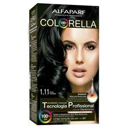 Coloração Alfaparf Colorella Preto Azulado 1.11