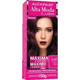 Coloração Alta Moda 5.65 Vinho Escuro Marsala
