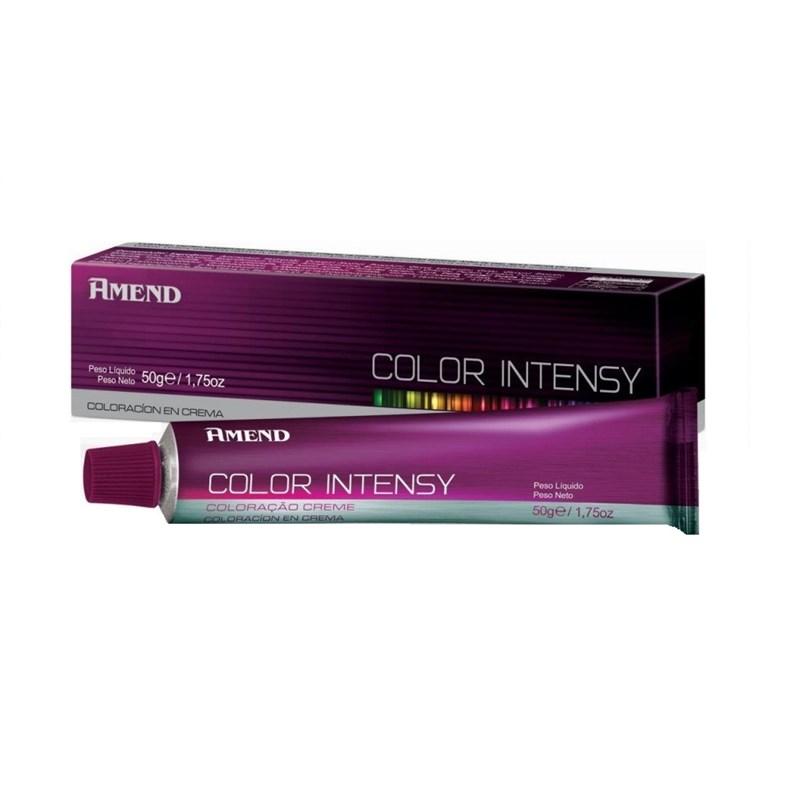 Coloração Amend Color Intensy 50 gr Louro Médio Acobreado Dourado 7.43