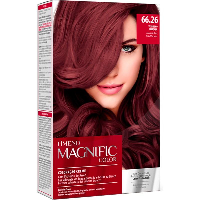 Coloração Amend Magnific Color Marsala 66.26