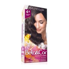 Coloração Beauty Color Bela&Cor Castanho Médio 4.0